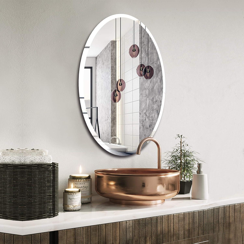 KOHROS Frameless Wall Mirror