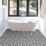 FloorPops FP2480 Comet Peel & Stick Tiles Floor