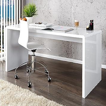Invicta Interior 15806 Fast Trade Schreibtisch Hochglanz 120 Cm