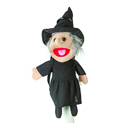 "Sunny toys 14"" Witch Glove Puppet: Toys & Games"