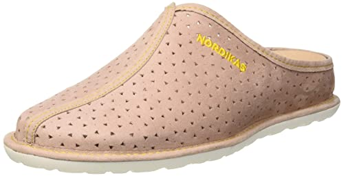 NORDIKAS Tex Sra, Zapatillas de Estar por casa con talón Abierto para Mujer: Amazon.es: Zapatos y complementos