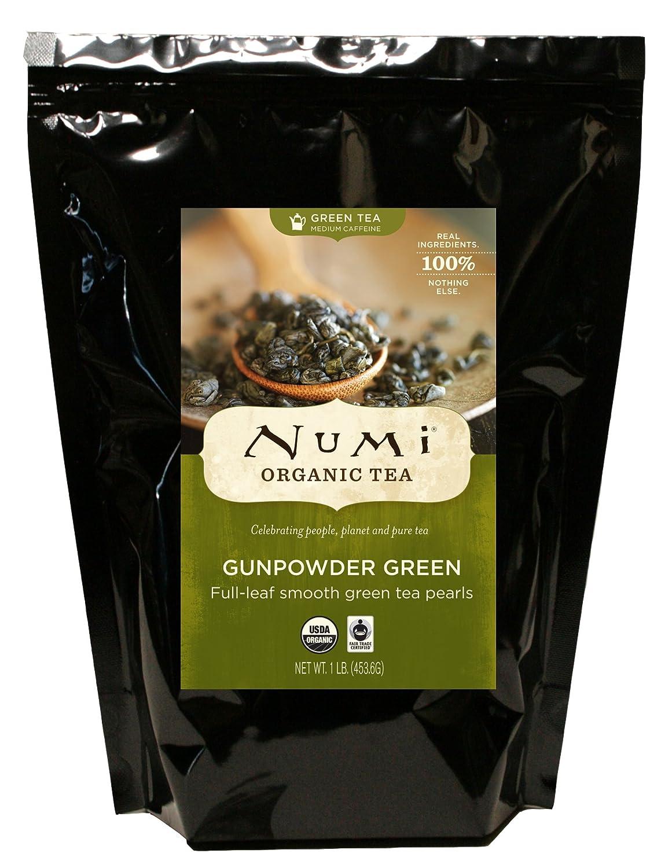 Bulk organic tea - Amazon Com Numi Organic Tea Gunpowder Green Loose Leaf Tea 16 Ounce Bulk Pouch Grocery Gourmet Food