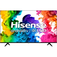 """Hisense 50A68G - 50"""" Smart TV Ultra HD 4K Dolby Vision HDR10 Android Television with Bluetooth, Voice Remote (Canada…"""