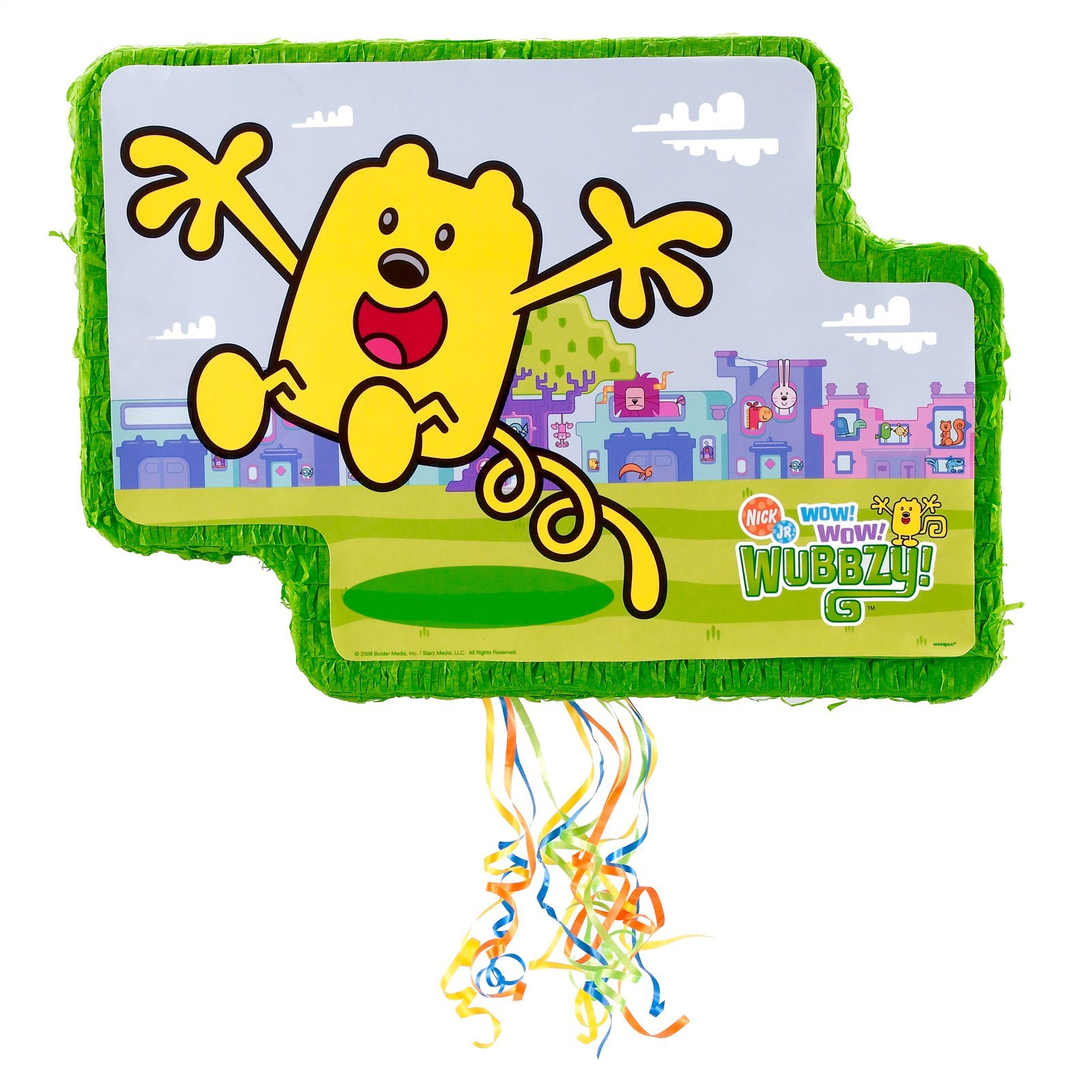Wubbzy Pop Out Pull String Pinata