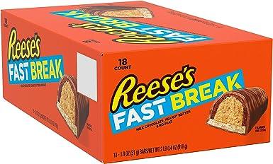 REESES FAST BREAK Candy Bar (1.8-Ounce, Pack of 18): Amazon.es: Alimentación y bebidas