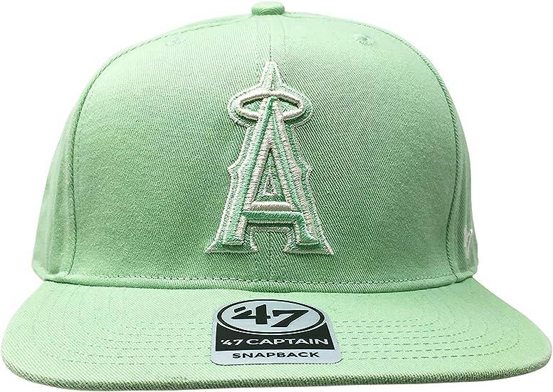 in stock low price new design Amazon.com : '47 Los Angeles Angels Brand Captain Island Snapback ...