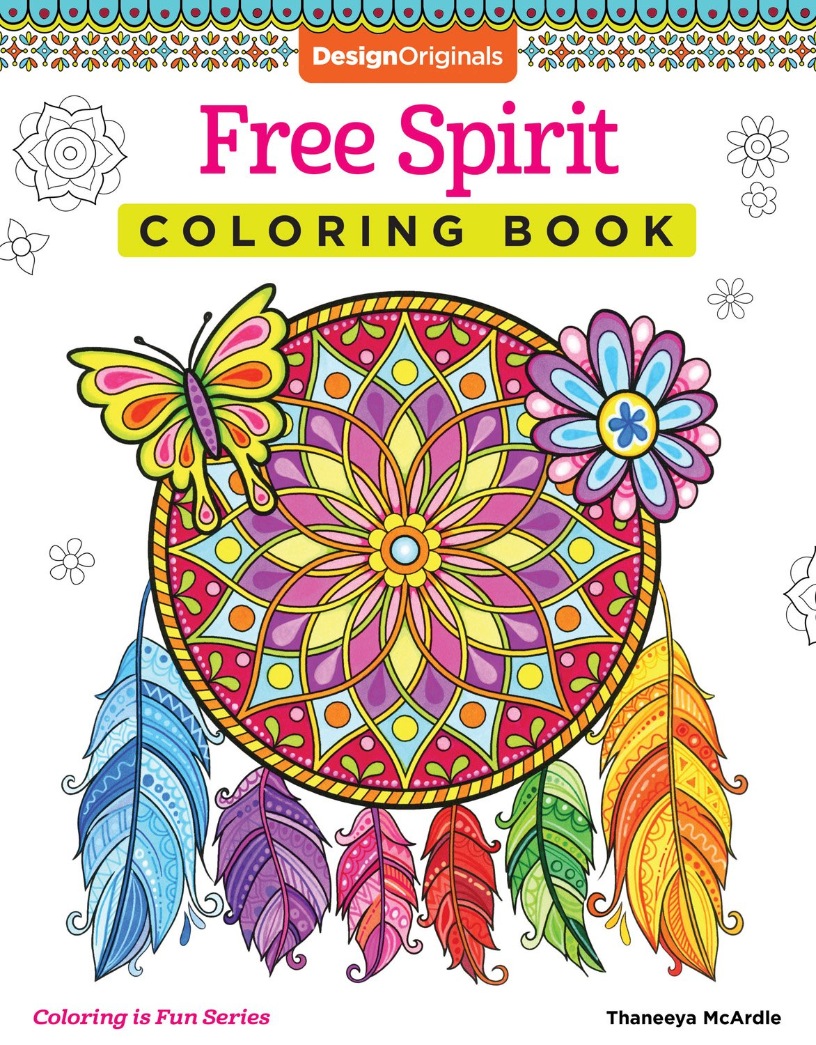 Amazon Free Spirit Coloring Book Is Fun Design Originals 32 Whimsical Quirky Art Activities From Thaneeya McArdle On High Quality