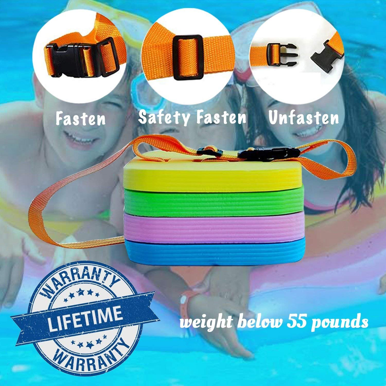 Flotador de espalda para natación Ayuda dividida para flotar 21 cm (El color podría variar): Amazon.es: Juguetes y juegos