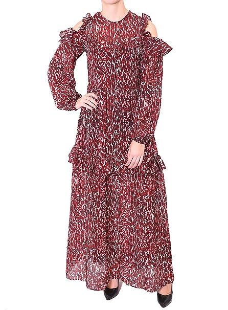 Pinko - Abito in Georgette con Stampa a Pois  Amazon.it  Abbigliamento 9077ee88194