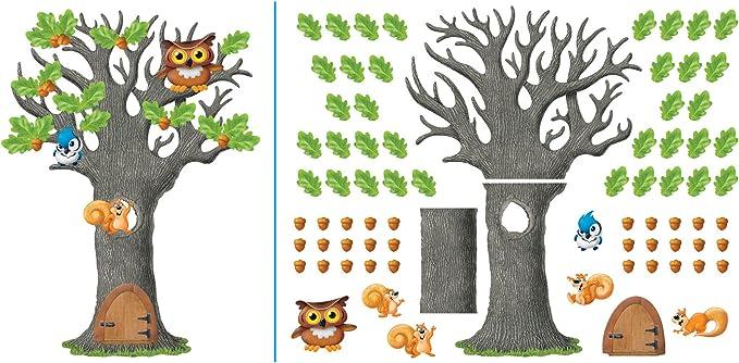 T-8026 Big Oak Tree Bulletin Board Set Trend Enterprises Inc