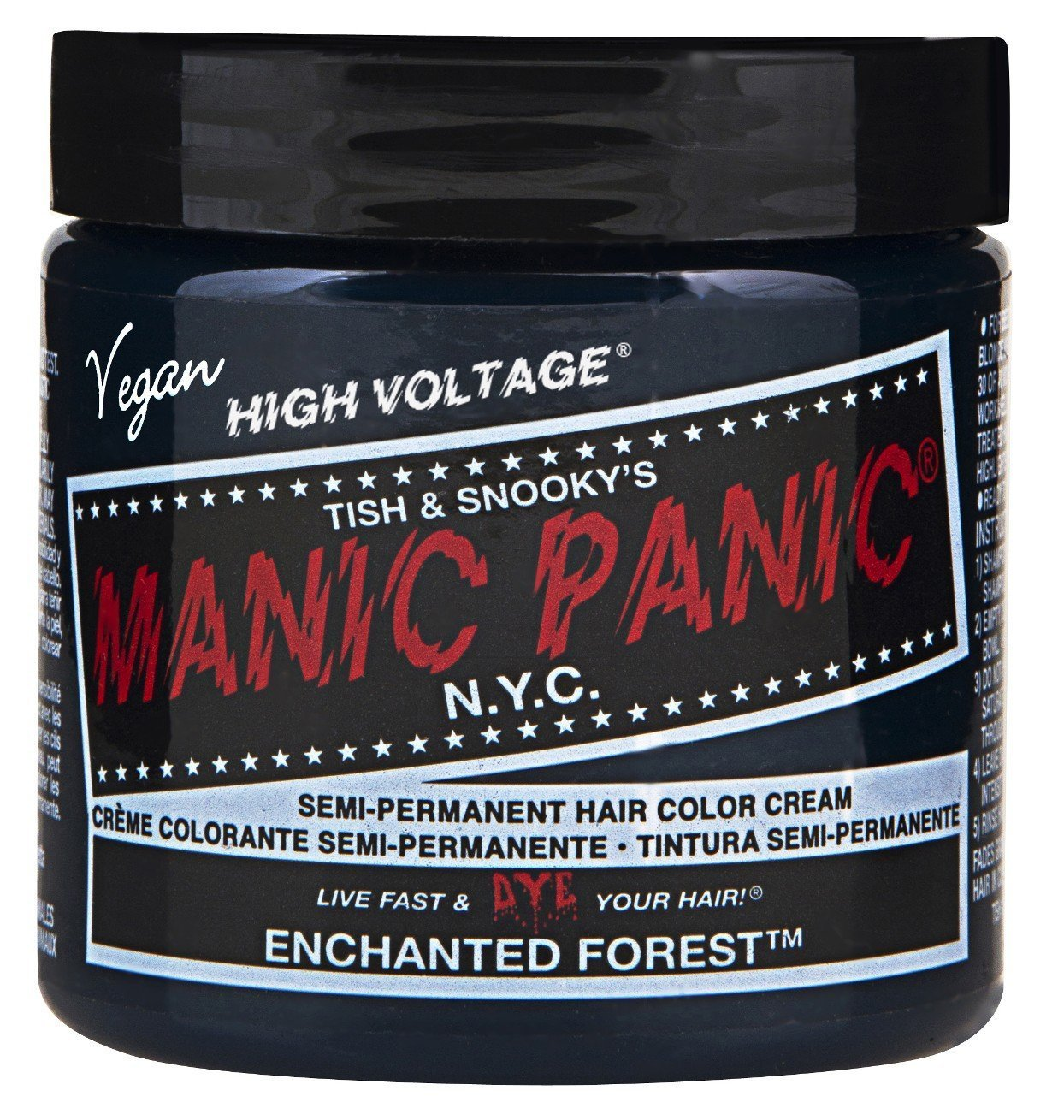 Manic Panic semi-permament Haircolor Foresta incantata 4oz
