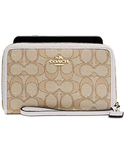 Coach - Cartera para mujer mujer beige Light Gold/Light ...