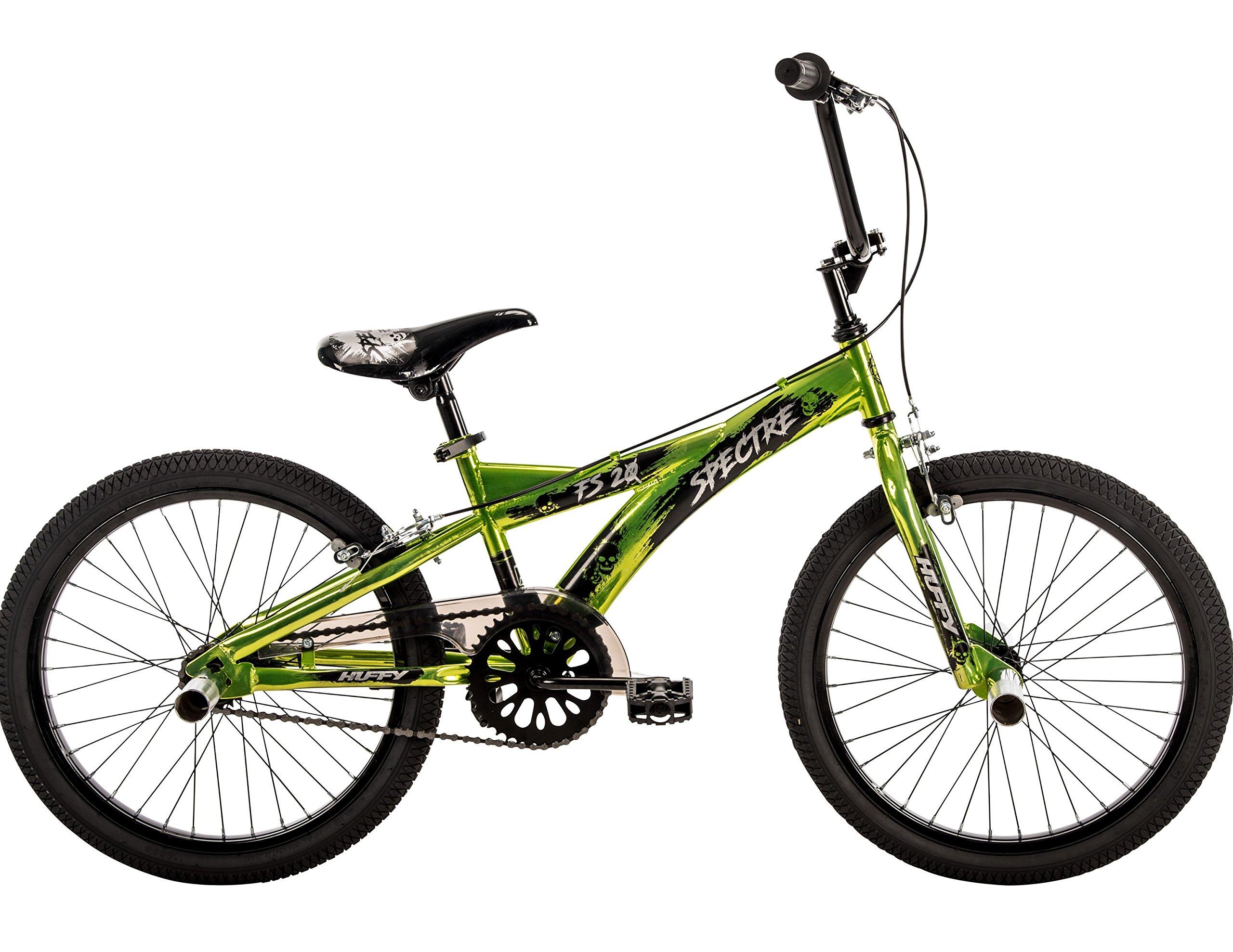 20'' Huffy Spectre Boys' BMX Bike, Green