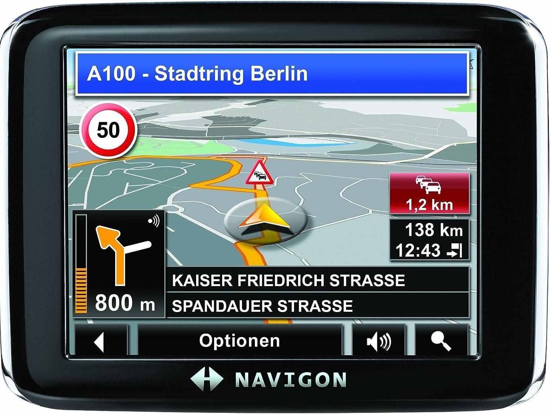 NAVIGON 2310 Navigationssystem Europa 40 L/änder TMC-Routenplanung NAVIGON MyRoutes Clever Parking inklusive TMC