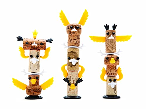 Luckies of London Corkers Totem, Yellow
