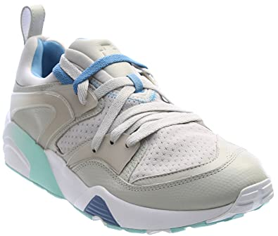 Blaze OF Glory Pink Dolphin Mens in Gray Violet/Blue Heaven by Puma, 8