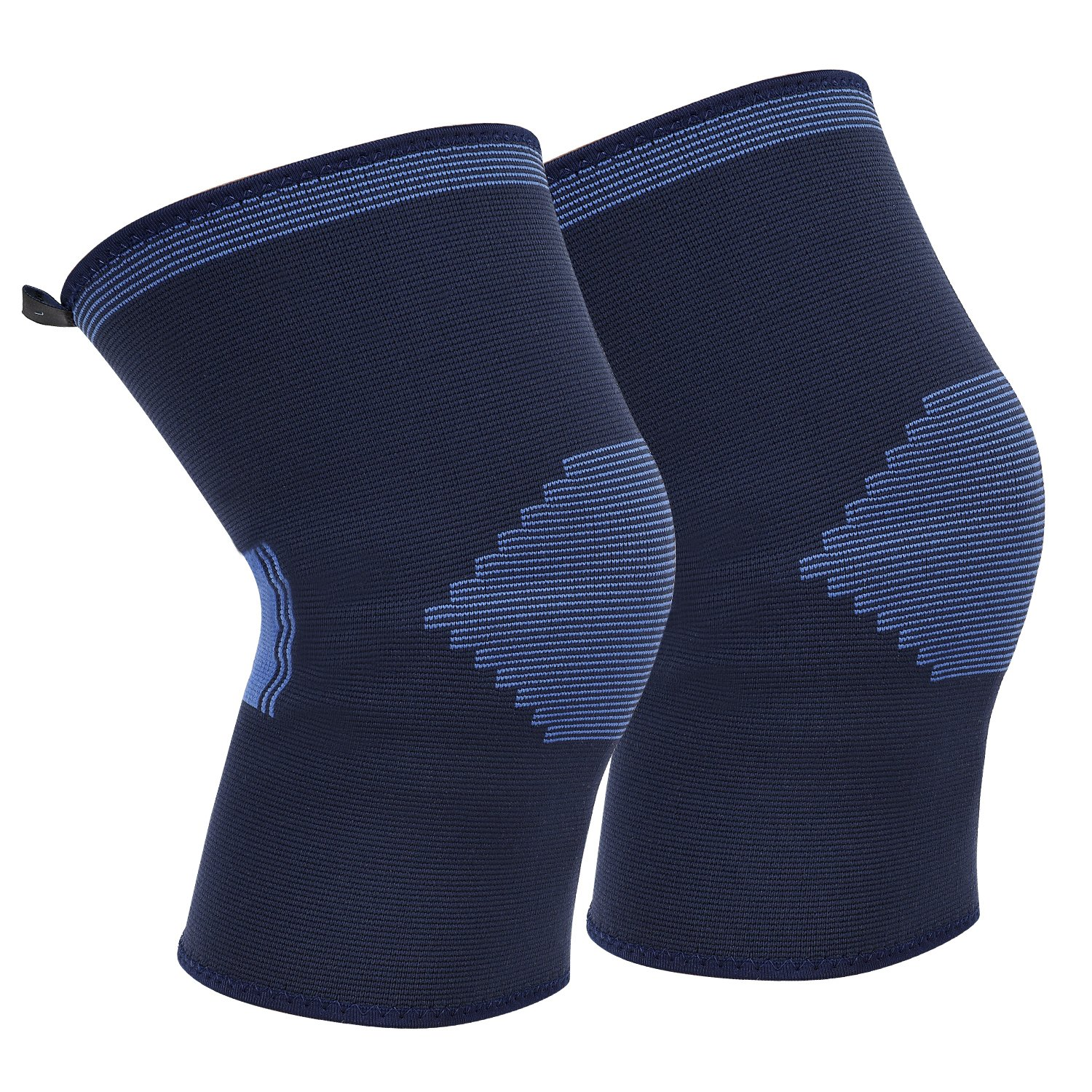 Knee Brace Compression Sleeves Support for Running/Jogging/Basketball and More Sports, suitable for Man/Women/Kids, XL