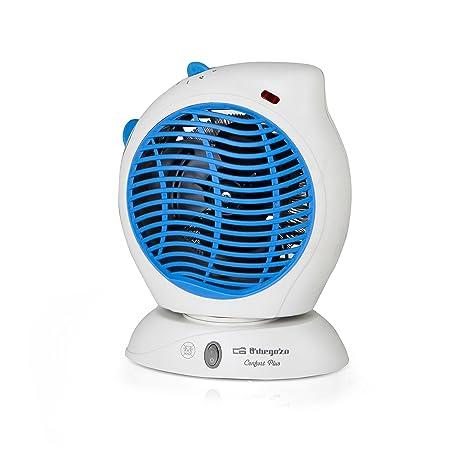 Orbegozo FH 5560 Calefactor, 2000 W, Azul