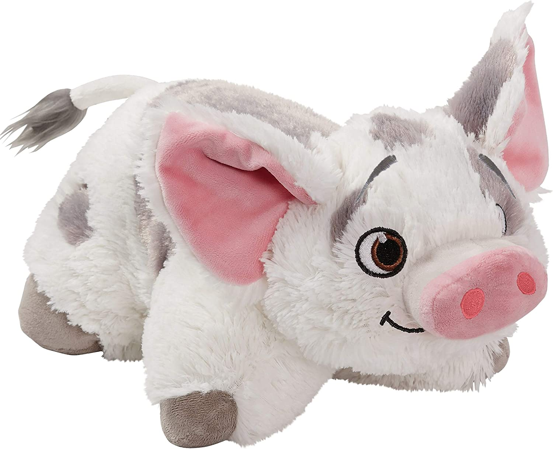 "B01IO964EY Pillow Pets Disney Moana Stuffed Animal Plush Pillow Pet 16"", Pua 81xC7uIaUxL"