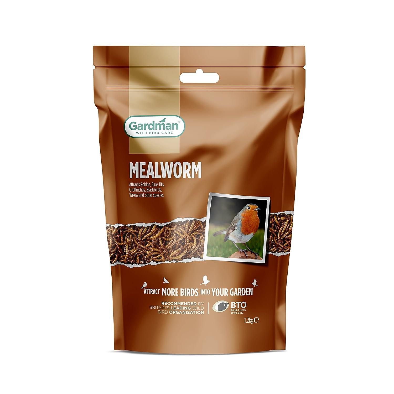 Gardman A04521 1.2 kg Mealworm Pouch - Multi-Colour