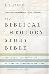 NIV, Biblical Theology Study Bible, eBook: Follow God's Redemptive Plan as It Unfolds throughout Scripture Kindle Edition