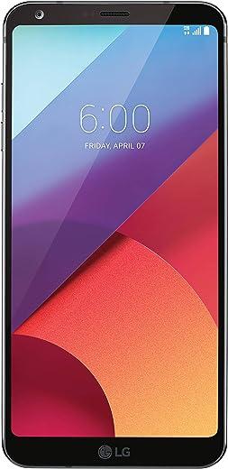 LG G6 H872 5.7 32GB Unlocked GSM Android Phone w/ Dual 13MP Cameras - Astro Black (Renewed)