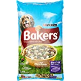 Bakers Complete Dog Food Senior Tender Meaty Chunks Tasty Chicken and Country Vegetables, 12.5 kg