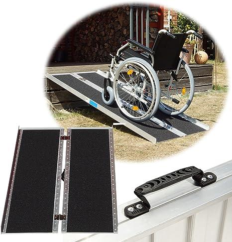 Trutzholm Rollstuhlrampe Rutschfeste Oberfläche Verschiedene Größen 272 Kg Klappbar Alu Auffahrrampe Verladerampe Rampe 184 Baumarkt