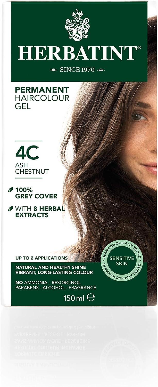 Herbatint Tinte Castaño Ceniza 4C - 150 gr