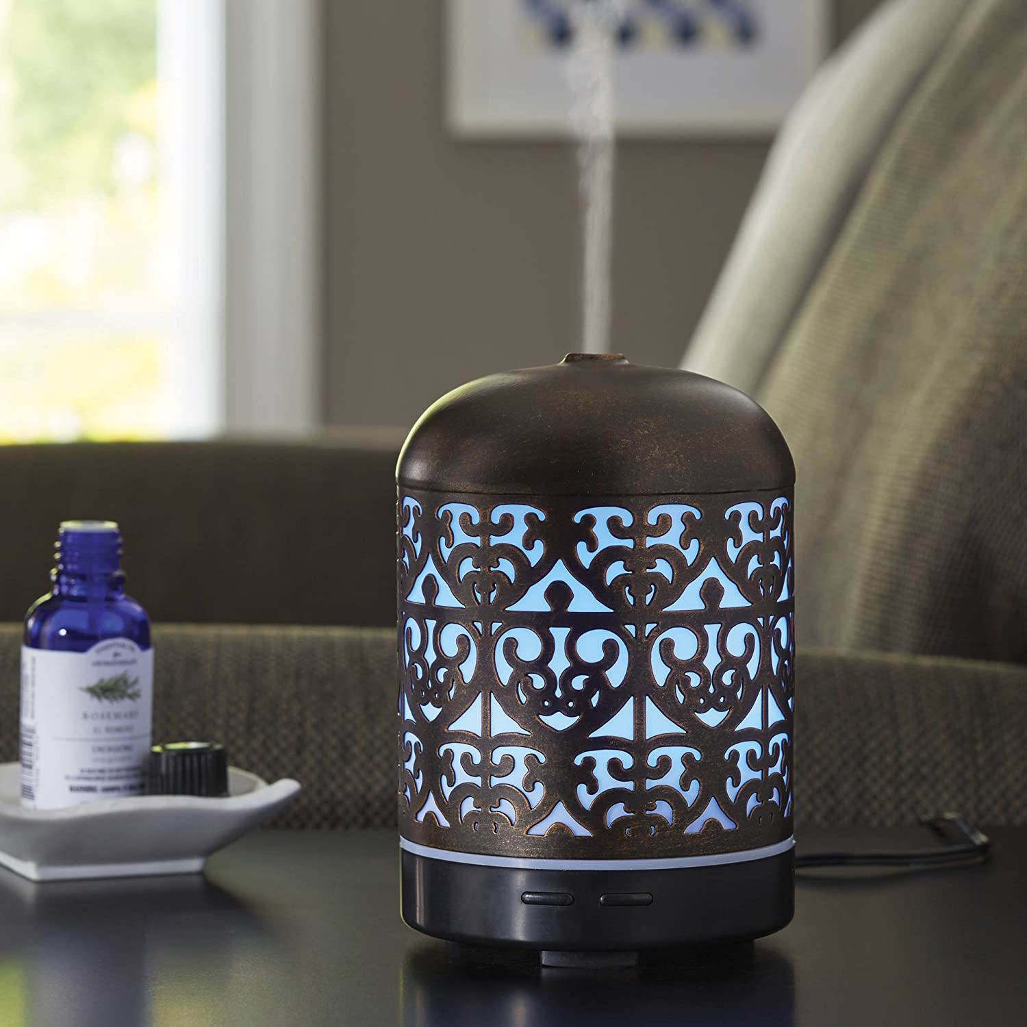 Better Homes and Gardens Essential Oil Diffuser, Moroccan Scroll