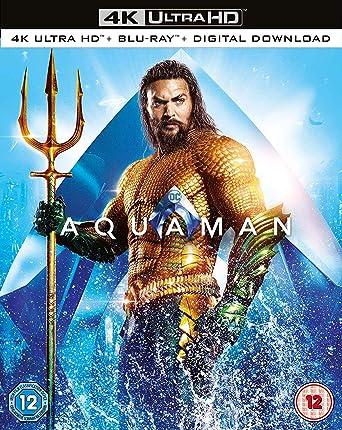 Aquaman [Blu-ray] [2018]: Amazon co uk: Jason Momoa, Amber