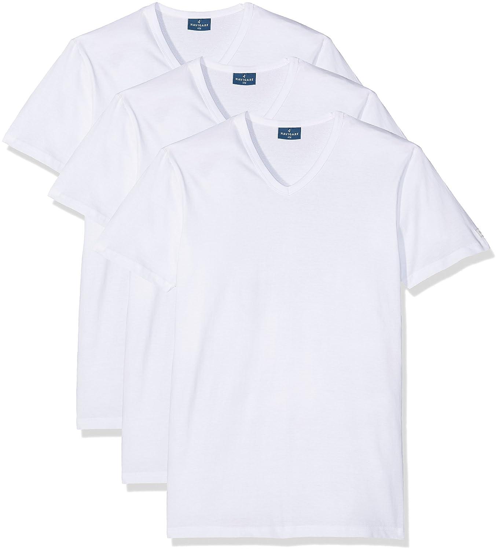 Maglietta con scollo a V 100% jersey cotone, art. 512, Navigare