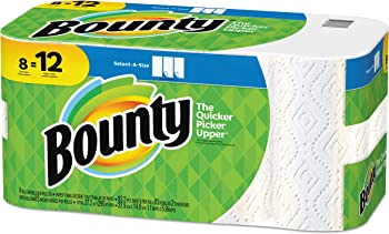 Bounty Select-A-Size 2-Ply 8 Rolls Paper Towels