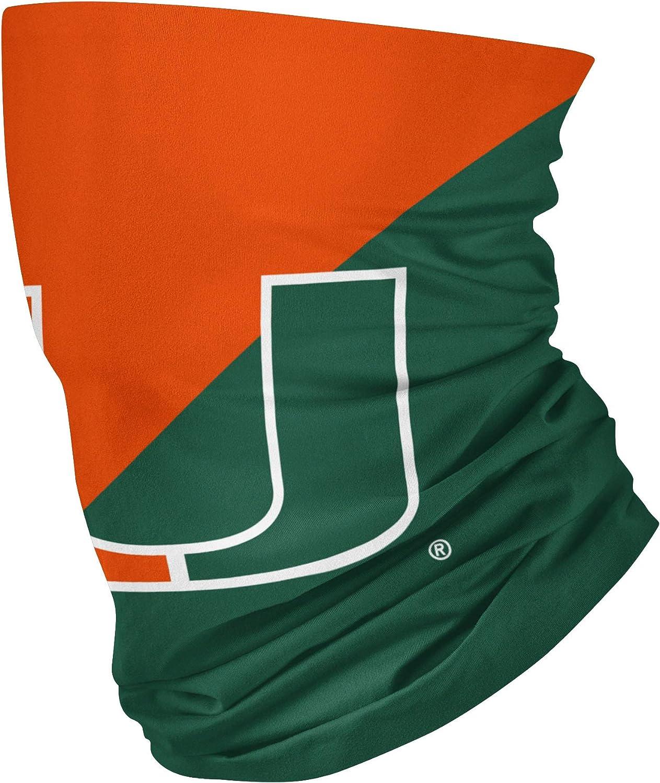 FOCO NCAA Big Logo Face Mask Gaiter