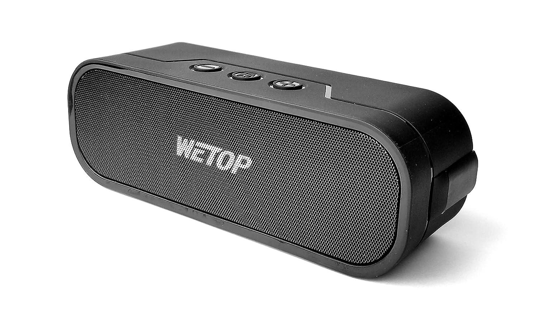 20ワットポータブルBluetoothスピーカー H.D Sound 品質 IPX 5 防水 屋外用 WETOP 4017 バスとトレブル バイブス製   B06XZ81M8R