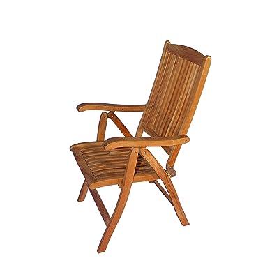 amazon com achla designs eucalyptus wood indoor outdoor folding