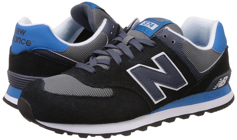 Nuovo Equilibrio 574 Nero E Blu shuLCHex0