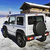 Housse de roue de secours noire pour auto voiture 4x4 caravane camping car utilitaire pour taille 265//70R16