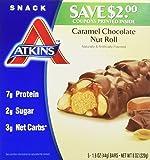 Atkins Advantage Bar Caramel Chocolate Nut - 5 Bars