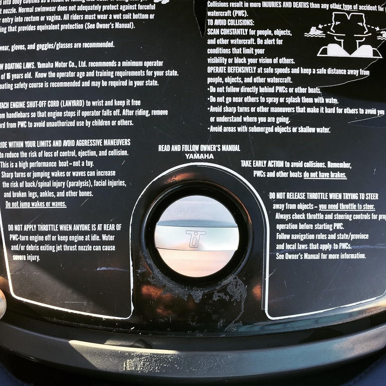 HO Thrust innovations Yamaha Billet WaveRunner PWC Glove Box Lid Latch Fastener FX Cruiser