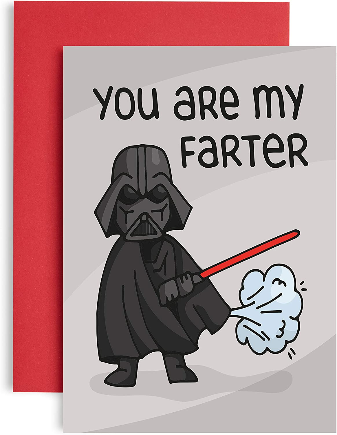 Funny Yoda Best Fathers Day Card You are My FatherFarter A6 Fathers Day Card from Daughter or Son Lockdown Birthday Cards for him Star Wars Birthday Cards Quarantine Fathers Day Card
