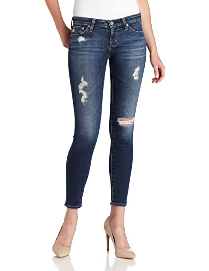 0fd95a81a7ab2 AG Adriano Goldschmied Women's Legging Ankle Jean in 7 Year Break Me Down:  Amazon.co.uk: Clothing