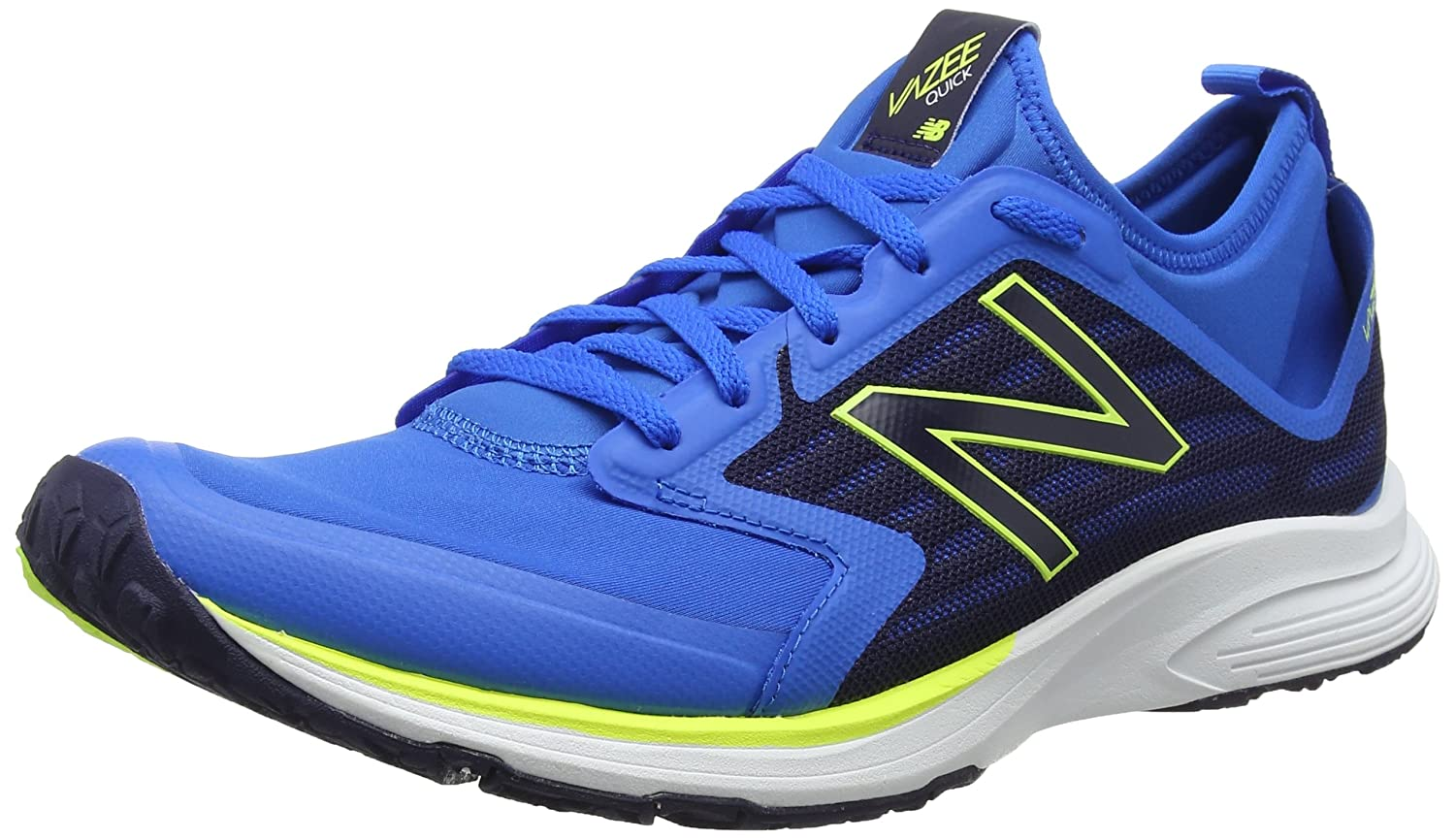 New Balance Men's Vazee Qik Cross Trainer B01FSD8BNG 9.5 D(M) US|Electric Blue/Dark Denim