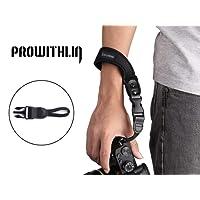 Prowithlin Universal Neoprene Camera Wrist Strap for DSLR Cameras, Pentax, Canon, Panasonic, Leica, Sony, Samsung,M4/3, NEX, Fujifilm, etc