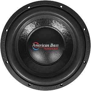 American Bass Usa XO 1044 600 Watt Max Dual 4Ohm 10 Inch Subwoofer