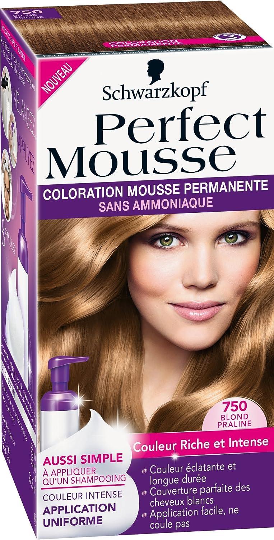 Schwarzkopf Perfect Mousse – Coloración permanente – Blond ...