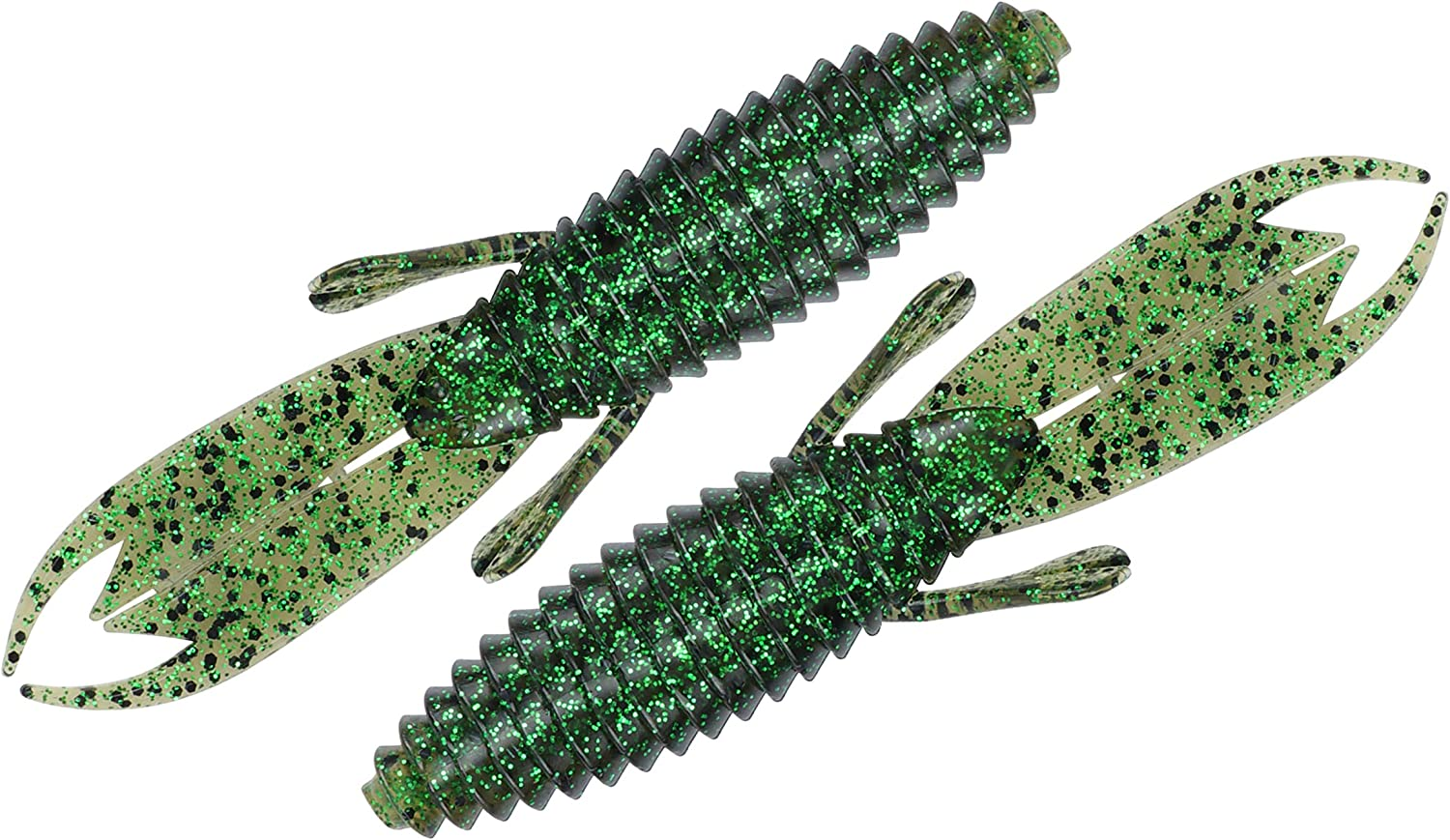 RUNCL Anchor Box - Craw Baits, Creature Baits, 4/4.2in Soft Fishing Lures 15/20pcs - Oversized Pinchers, Weedless Design, Natural Oils, Lifelike Swimming Actions, Proven Colors - Fishing Baits