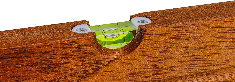 BMI Wasserwaage Super aus Hartholz 80 cm Typ 661-40 cm 60 cm