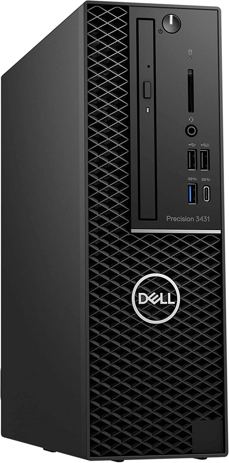 Dell Precision 3431 Workstation - SSF - i7-9700 -RAM 16 GB RAM - 256 GB SSD - Small Form Factor - Windows 10 Pro 64-bit - w/UHD Graphics 630