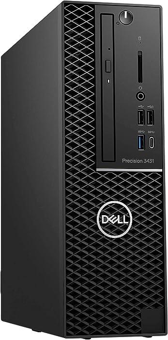 Dell Precision 3431 Workstation - SSF - i7-9700 -RAM 16 GB RAM - 256 GB SSD - Small Form Factor - Windows 10 Pro 64-bit - w/UHD Graphics 630